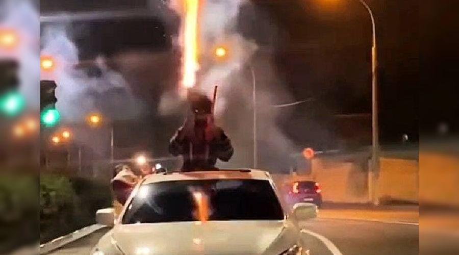 ©Скриншот из видео пресс-службы ГИБДД России по Краснодарскому краю