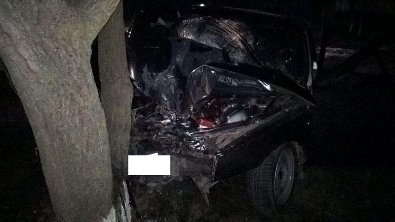 НаСтаврополье шофёр без прав врезался вдерево, умер пассажир