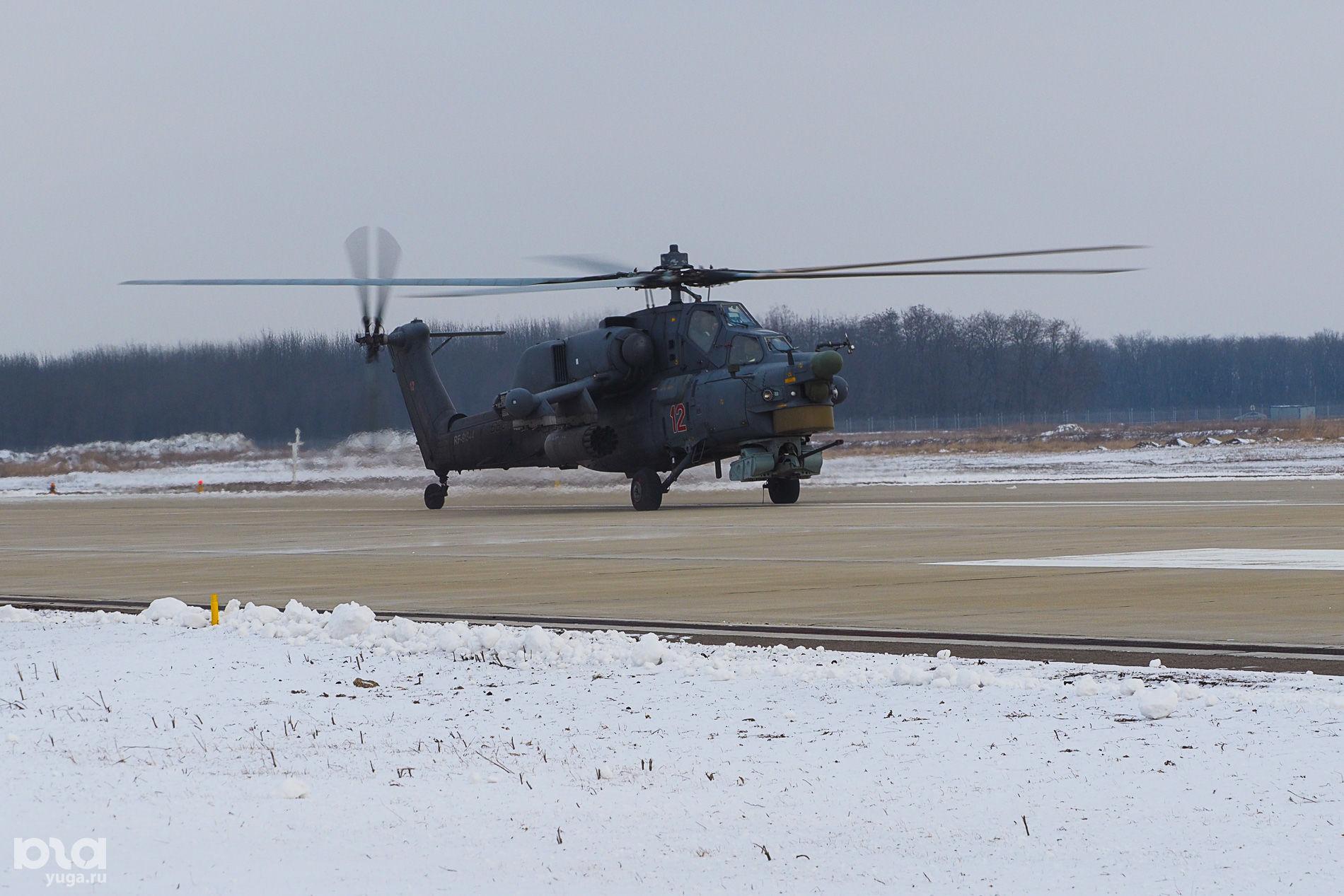 Вертолет Ми-28Н ©Виталий Тимкив, Юга.ру