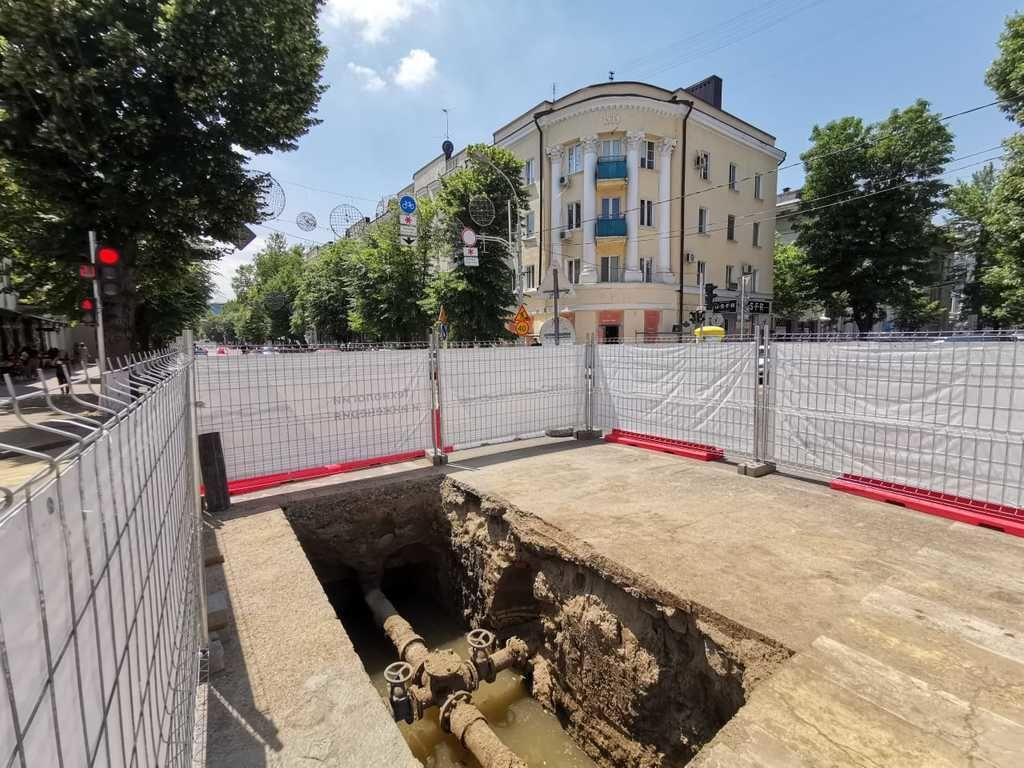 В центре Краснодара в июле начнется второй этап замены водопровода