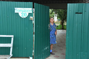 Мария Сергеевна переехала в Ладожскую из азербайджанского села Астрахановка ©Фото Елены Синеок, Юга.ру