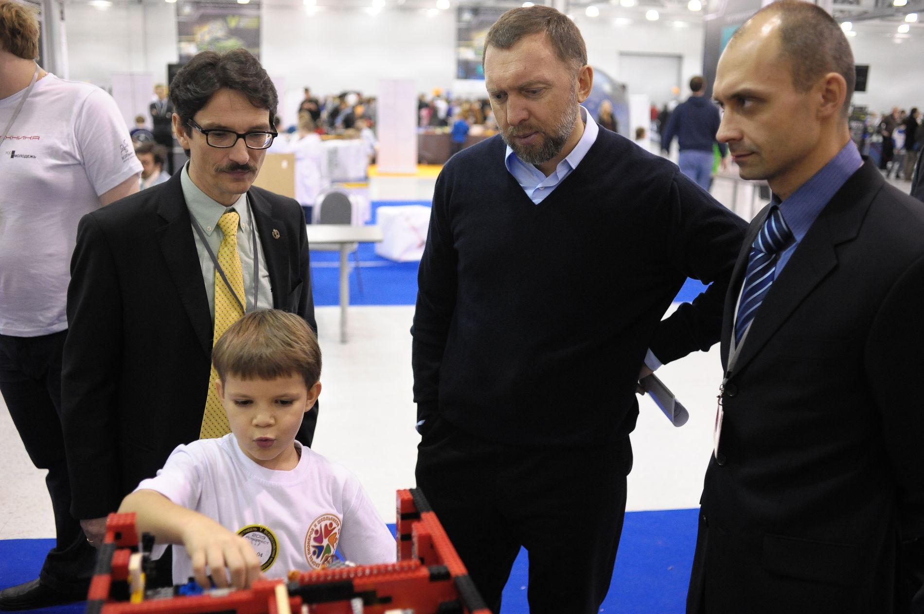 На VII Всероссийском робототехническом фестивале «РобоФест» ©Фото пресс-службы компании «Базовый Элемент»