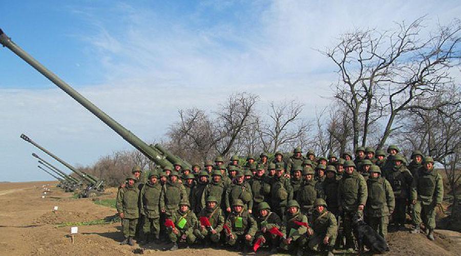 Первый гаубичный артиллерийский дивизион ©Фото Юга.ру