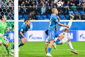 Матч «Зенит» — «Краснодар» 7 октября 2018 года ©Фото пресс-службы ФК «Краснодар»