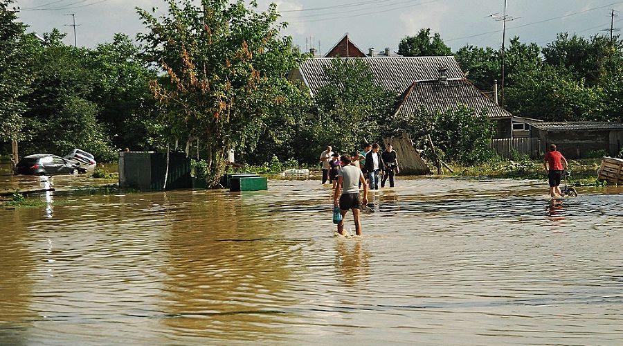 Наводнение в Крымске ©Ольга Громова, ЮГА.ру
