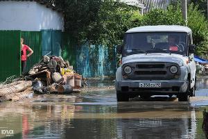Ликвидация последствий наводнения в Крымске ©Елена Синеок. ЮГА.ру