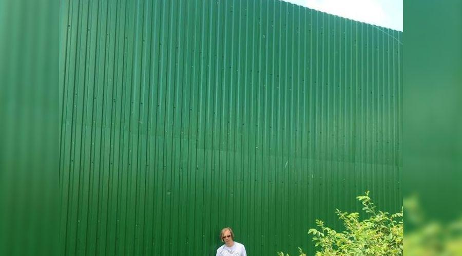 Забор у Миловки ©Фото: ФБК