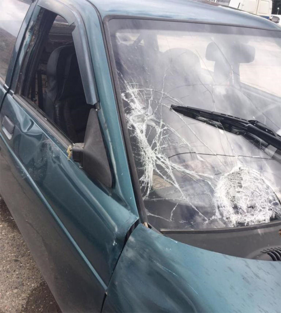 НаСтаврополье шофёр «легковушки» сбил насмерть пешехода