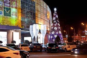 Новый год в «СБС Мегамолл» ©Юга.ру