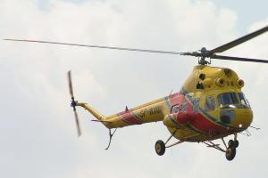 Вертолет санавиации Ми-2 ©Фото с сайта wikimedia.org