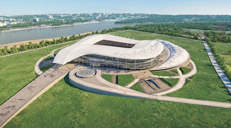 "Стадион ""Ростов-Арена"" ©steelcon.ru"