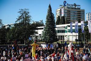 Открытие главной городской елки в Сочи ©Нина Зотина, ЮГА.ру