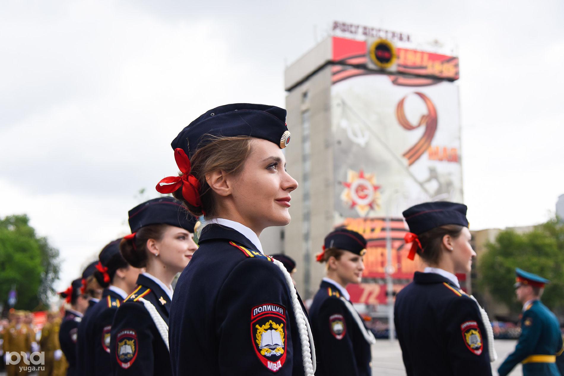 Парад Победы на Главной городской площади (до апреля 2019 года — Театральной) в Краснодаре ©Фото Елены Синеок, Юга.ру