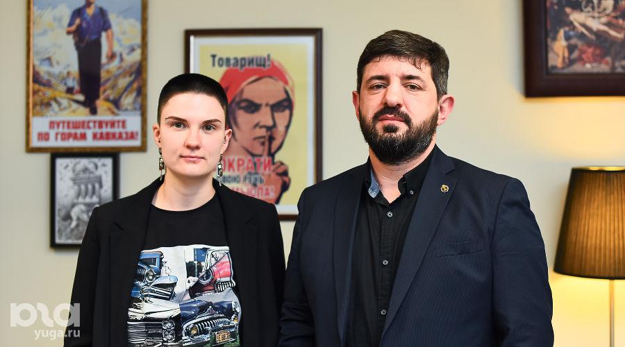 Юлия Федотова и Алексей Аванесян ©Фото Елены Синеок, Юга.ру
