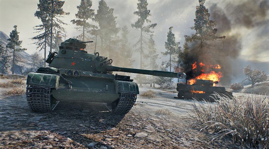 Кадр из игры World of Tanks ©Фото с сайта squarefaction.ru