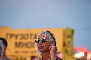 """Международный байк-фестиваль """"Тамань – полуостров свободы"""" в Веселовке ©Елена Синеок, ЮГА.ру"""