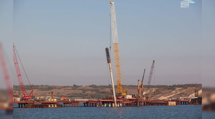 Будущий Крымский мост ©Фото с сайта most.life