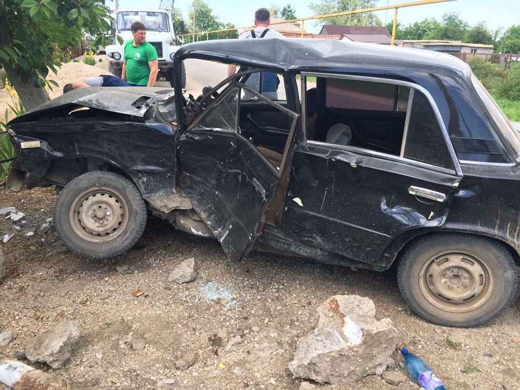 Нетрезвый шофёр без прав вЕйском районе исчез сместа ДТП