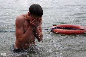 В Краснодаре празднуют Крещение ©Елена Синеок. ЮГА.ру