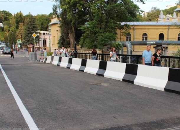ВКисловодске навосстановление моста через реку Ольховку потратили 68 млн руб.