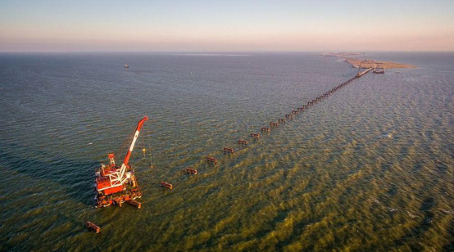 Строительство моста через Керченский пролив ©http://rosavtodor.ru/