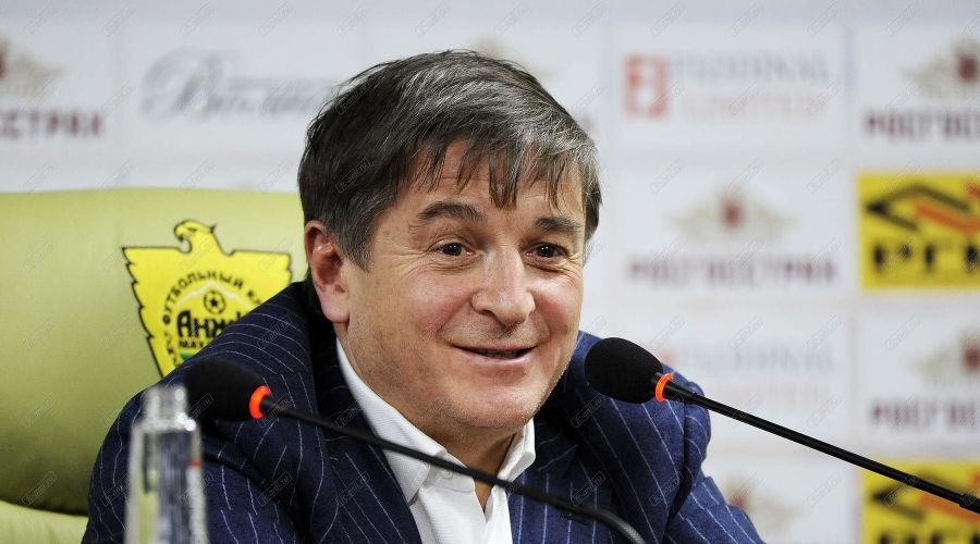 Осман Кадиев ©Фото с официального сайта ФК «Анжи»