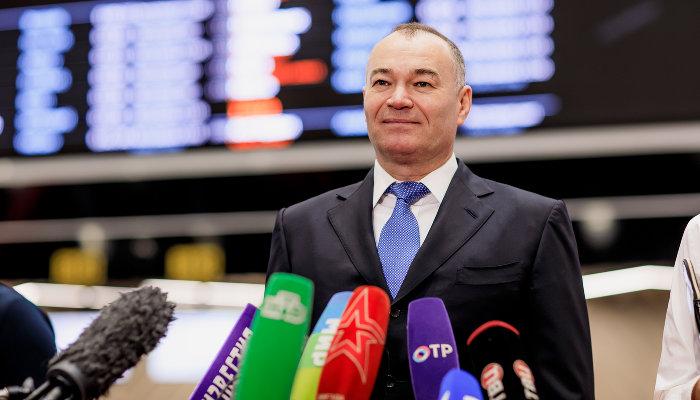 Александр Пономаренко ©Изображение предоставлено пресс-службой АО «Международный аэропорт Шереметьево»