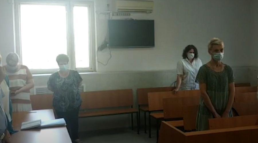 ©Скриншот видео пресс-службы Краснодарского краевого суда