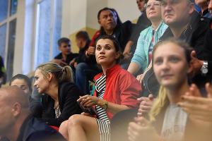 """Гандболистки """"Кубани"""" обыграли """"АГУ-Адыиф"""" в Майкопе ©Елена Синеок, ЮГА.ру"""