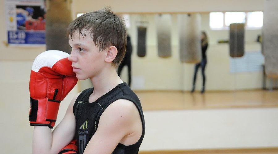 Родион Пастух провел мастер-класс по боксу в Краснодаре ©Елена Синеок. ЮГА.ру