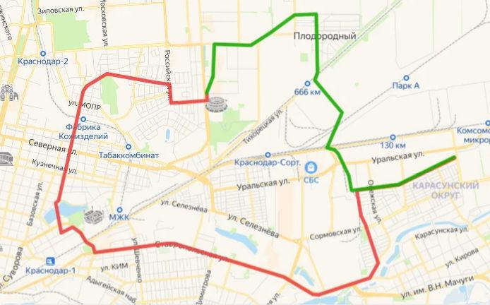 Вариант №2 перспективной трамвайной ветки ©«Городские решения»