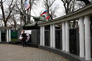 Симферополь после референдума о присоединении Крыма к России ©Фото Юга.ру