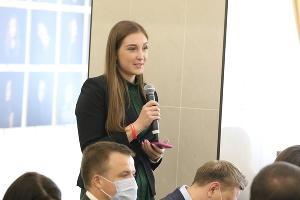 Журналистка Илона Грачевская ©Фото пресс-службы администрации Краснодара