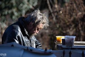 Благотворительная акция «Помоги бездомному». Краснодар, 14 января ©Фото Юга.ру