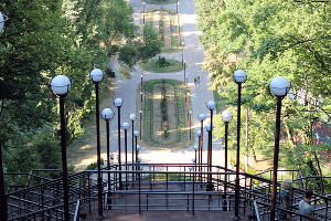 Лестница на Мэздах ©Фото Дмитрия Пославского, Юга.ру