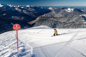 Горный курорт «Роза Хутор» ©Фото пресс-службы горного курорта «Роза Хутор»