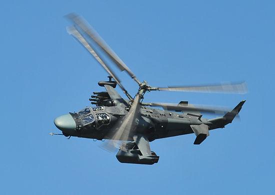 Вертолетный полк вКраснодарском крае вконце осени получит девять вертолетов Ка-52
