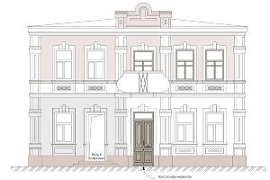 Чертеж здания ©Фото предоставлено фондом сохранения исторической среды «Внимание»