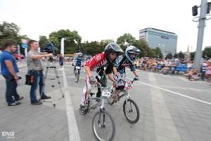 Велопраздник в честь Летней Олимпиады в Лондоне ©Евгений Смирнов, ЮГА.ру