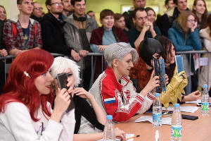 Фестиваль поп-культуры и компьютерных технологий «Киберкон» ©Фото Елены Синеок, Юга.ру