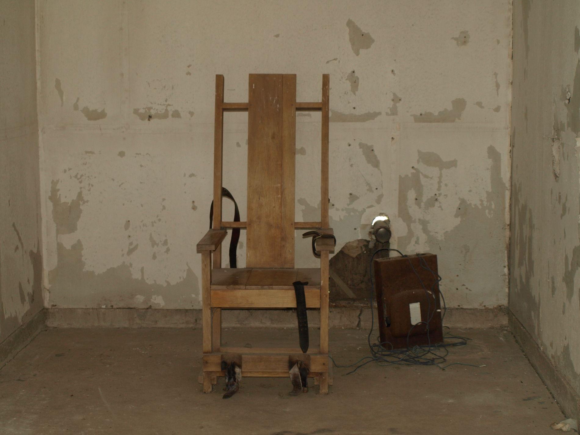 Бывшая комната для экзекуций в тюрьме штата Луизиана ©Фото с сайта wikimedia.org