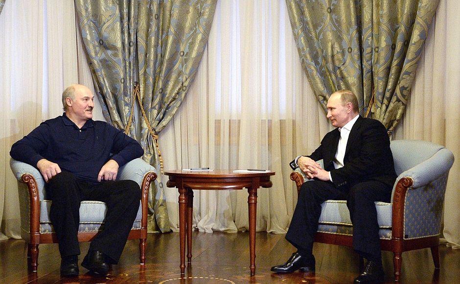 Путин иЛукашенко после переговоров отправятся натурнир посамбо