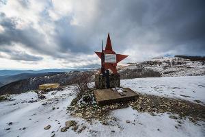 Дорога к «Грозовым воротам» ©Фото Елены Синеок, Юга.ру