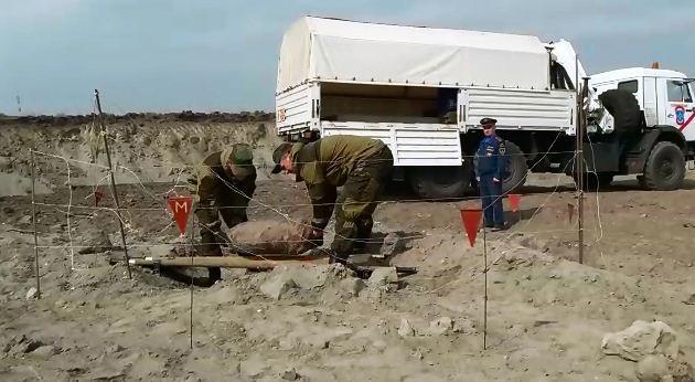 Авиабомба времен ВОВ обезврежена насевере Чечни