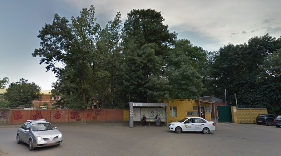Специализированная психиатрическая больница № 7, Краснодар ©Скриншот панорамы карт «Google», google.ru/maps