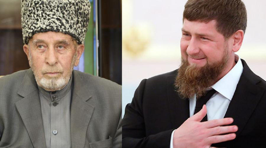Мухажир Нальгиев и Рамзан Кадыров ©Коллаж bakdar.org
