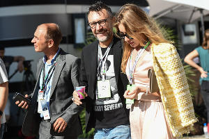 Сергей Шнуров, Гран-при России «Формулы-1» в Сочи, сентябрь 2018 ©Фото Екатерины Лызловой, Юга.ру