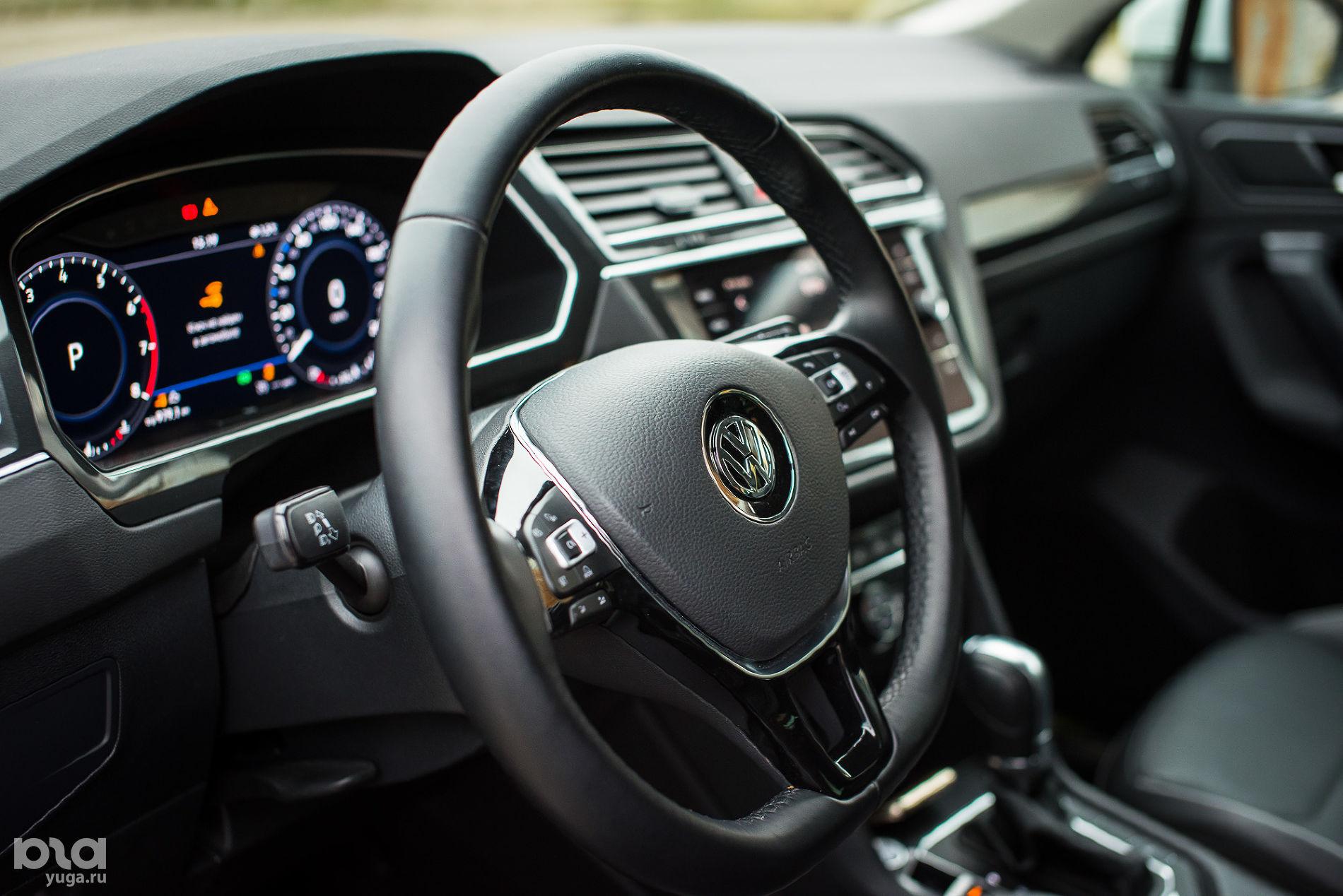 Тест-драйв Volkswagen Tiguan у Медвежьей горы ©Фото Елены Синеок, Юга.ру