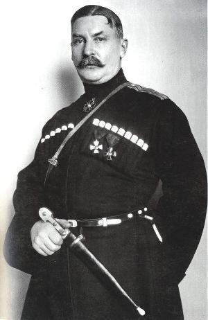 Евгений Сергеевич Тихоцкий (1878—1953) — кубанский казак, полковник, герой Первой мировой войны