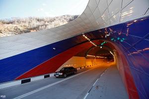 Открытие Рокского тоннеля, соединившего Северную и Южную Осетии ©Фото Юга.ру